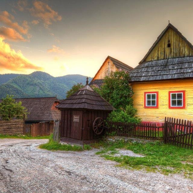 Folk village exhibition
