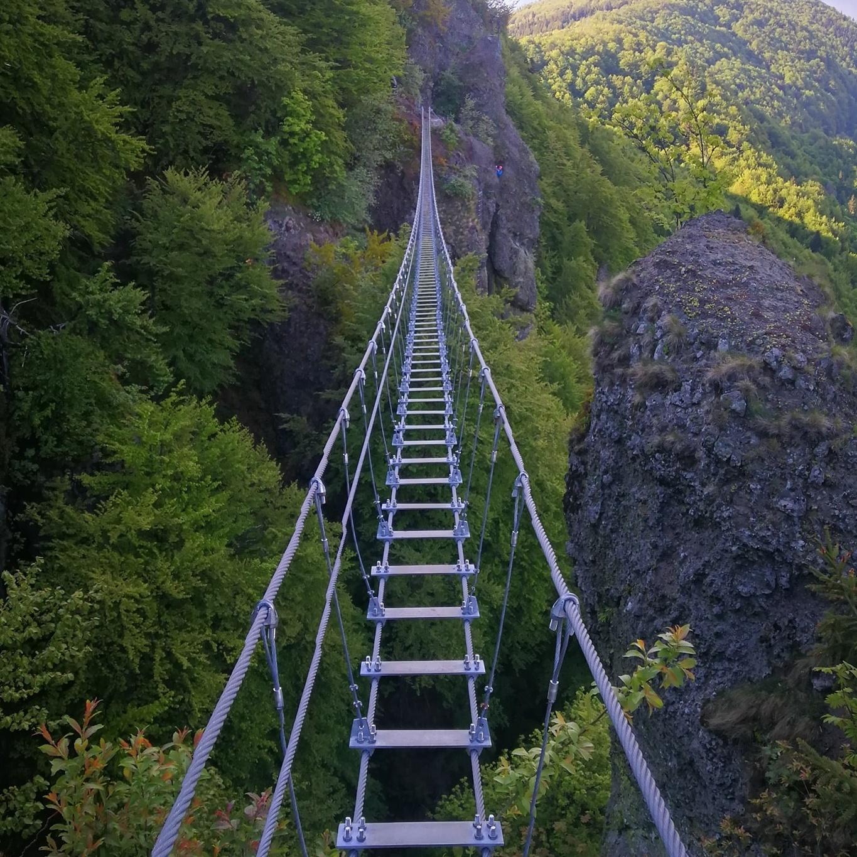 ferrata Skalka visutý most