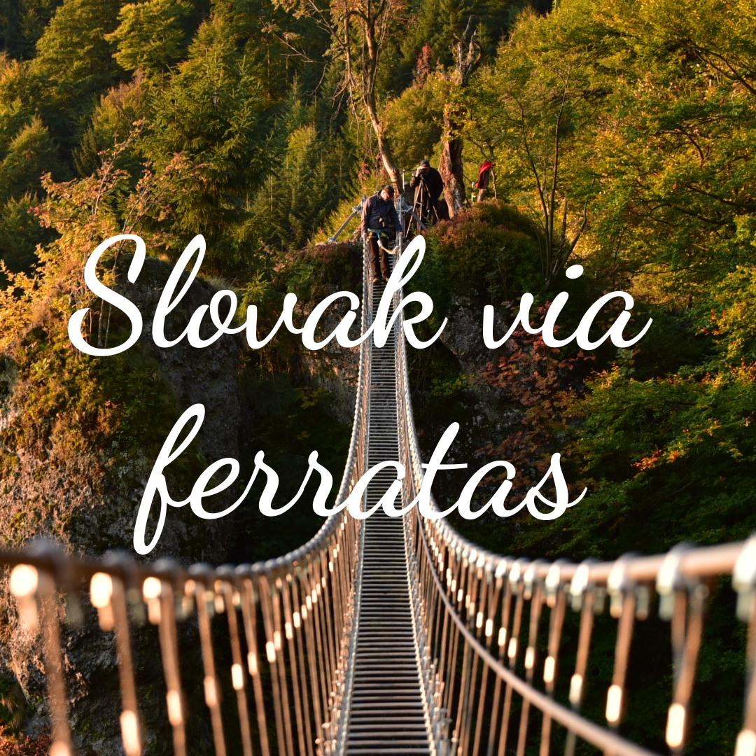 Slovak via ferratas